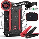 Best Portable Jump Starters - YABER Portable Jump Starter Pack,1200A Peak Waterproof IP68 Review