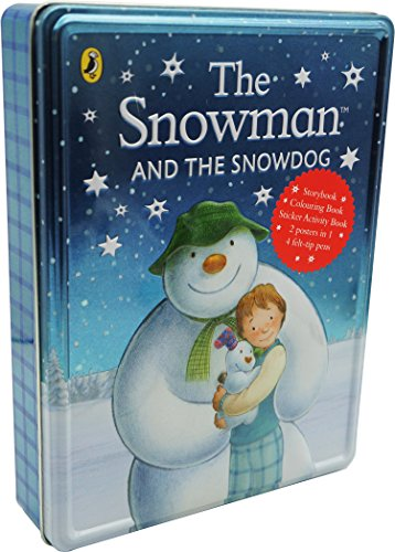 Snowman and Snowdog Tin, the