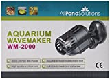 All Pond Solutions WM-2000 Aquarium Dual Powerhead Wave Maker, 2000L/H Flow Rate