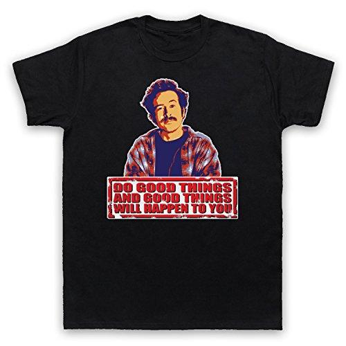 Inspiriert durch My Name Is Earl Do Good Things Unofficial Herren T-Shirt, Schwarz, XL