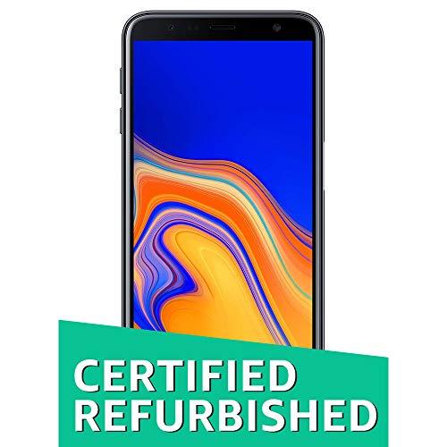 (CERTIFIED REFURBISHED) Samsung Galaxy J6 Plus (Black, 4GB RAM, 64GB Storage) with Offers