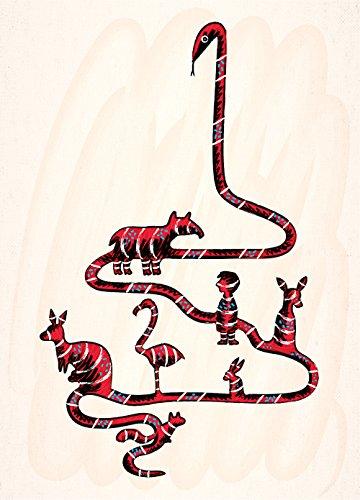 Cose che il serpente Ate-A3, poster art Oliver stampa di (Numerato Parte)