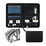 Wonyered 40 PCS Lápices para Bosquejo Carboncillos Dibujo - Best Reviews Guide