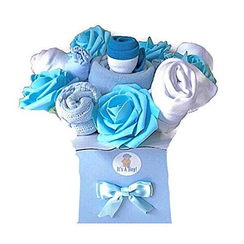 940f6fe29dabc Bouquet de garçons pour vêtements de bébé Cadeau de Baby Shower Cadeau de  Nouvel Maman Maternité