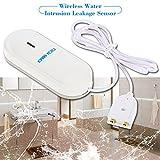 OWSOO 433MHz Wireless Rilevatore del Sensore di Perdita di Intrusione dell'acqua per Sistema di...
