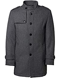 SELECTED HOMME Herren Wollmantel shdCOVENT Wolljacke Wollmantel Regular Fit