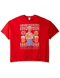 The Simpsons Men's Big and Tall Homer Beer Ugly Christmas T-Shirt B&t