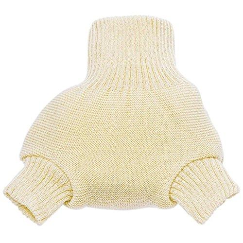 Culotte shorty en laine Disana 62/68 écru