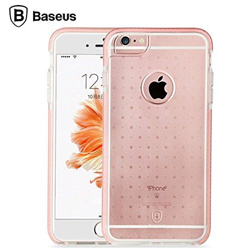 BASEUS Gardien PC TPU TPE Case Anti-choc et anti-choc de peau de couverture pour Apple iPhone 6 / 6S plus gris