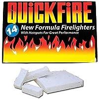 Quickfire Fire Lighters Firelighters Bulk Pack Hotspots Burners BBQ COAL LIGHTERS WOOD BURNERS