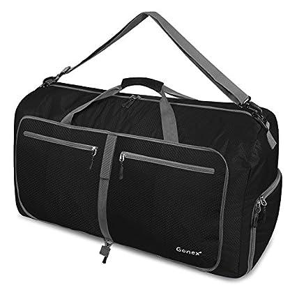 Gonex-Leichter-Faltbare-Reise-Gepck-4060-80100-150L-Duffel-Taschen-bernachtung-TaschenSporttasche-fr-Reisen-Sport-Gym-Urlaub
