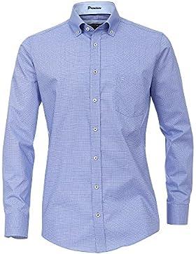CASAMODA Herren Businesshemd 372675200 bügelfrei 100% Baumwolle - Modern Fit