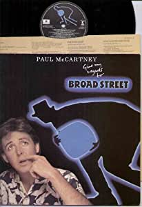 PAUL MCCARTNEY - GIVE MY REGARDS TO BROADWAY - LP VINYL