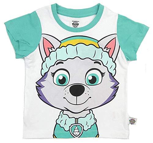 Paw Patrol T-Shirt Marshall Chase Zuma Schutt Rocky Fiveto Auswahl 2-3 zu 6-7Y - Aqua Everest, 98-104