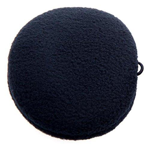 Earbags Helmet Ohrenwärmer Ohrenschützer Mit Band Für Helm Sport Fahrrad Reiten Klettern Original, 10711, Farbe schwarz, Größe S