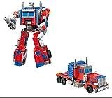 Modbrix Ladrillos Optimus Transform Robot Truck, 38cm, construcción...