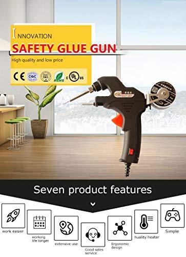 Heißluftpistole Tragbare Kunststoff-Heißluft-Lötpistole 220V 30-60W