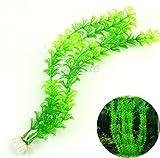 Tefamore plastica erba artificiale acqua decorazione acquario