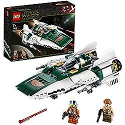 LEGO®-Star WarsTM A-Wing StarfighterTM de la Résistance Jouet Enfant à Partir de 7 ans, 269 Pièces à Construire 75248