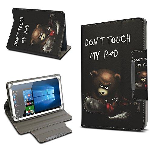 UC-Express Universal Tablet Schutz Hülle 10-10.1 Zoll Tasche Schutzhülle Tab Case Cover Bag, Motiv:Motiv 4, Tablet Modell für:ARCHOS 101c Platinum
