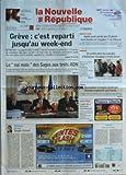 Telecharger Livres NOUVELLE REPUBLIQUE LA No 19168 du 16 11 2007 GREVE C EST REPARTI JUSQU AU WEEK END RETRAITES LE OUI MAIS DES SAGES AUX TESTS ADN EDITORIAL SIMPLE CONSEIL PAR HERVE CANNET INDRE ET LOIRE APRES AVOIR PERDU SES 12 POINTS JEAN SAVOIE EN RECUPERE 3 AU TRIBUNAL AMBOISE UN JARDIN POUR LES MALADES D ALZHEIMER INAUGURE A SAINT DENIS LOCHES DEMANDEUR D EMPLOI HANDICAPE CHERCHE EMPLOYEUR PAS BORNE SAINT PIERRE L AGGLO DEVRA INDEMNISER LE COMMERCANT CANDIDE DANSE AVEC LES C (PDF,EPUB,MOBI) gratuits en Francaise