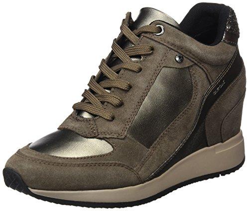 Geox Damen D NYDAME A Hohe Sneaker,
