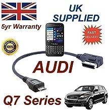 Cable AMI MMI de Audi Q7 Series 2012+ para Blackberry Q5 4F0051510M - Micro Cable USB