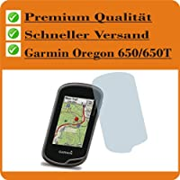 2x Entspiegelnde Displayschutzfolie Bildschirmschutzfolie für Garmin Oregon 650 / 650T - Nahezu blendfreie Antireflexfolie