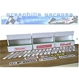 Greenhills Scalextric Slot Car Building Standard Pit Boxes Kit 1:43 Scale