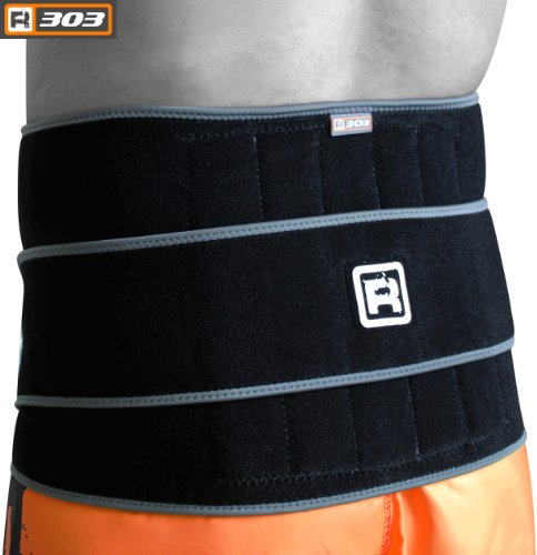 RDX Lombare Lower Back Belt Supporto Brace Pain Relief Sollevamento Pesi Neoprene