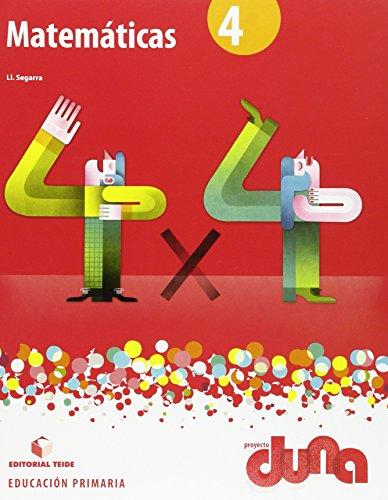 Matemáticas 4. Proyecto Duna - libro - 9788430719402