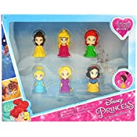 Sambro- Pack 6 Gomas Puzzle 3D Princesas Disney 26X21Cm, (DSP13-6352)