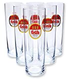 6 Stück Früh Kölsch Gläser 0,2l
