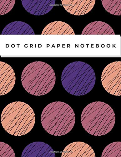 Dot Grid Paper Notebook: Dot Grid Paper Graph Dotted Journal Notebook Large 8.5 x 11 inches - 104 pages (Volumn 39)