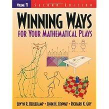 Winning Ways for Your Mathematical Plays, Volume 1 by Elwyn R. Berlekamp (16-Jan-2001) Paperback