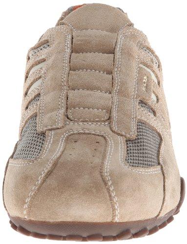 Geox UOMO SNAKE L Herren Sneakers Beige (BEIGE/DK ORANGEC0845)