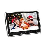 Tragbarer Auto-DVD-Player für Auto & Home 10,1 Zoll TFT LCD Bildschirm Kopfstütze DVD-Player, Fahrzeug-Video-Monitor mit IR-Kopfhörer / 2A Netzteil / Fernbedienung / USB / SD / HDMI (CL1018D)