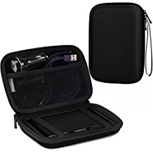 "MoKo Estuche portátil con GPS de 7 pulgadas, estuche de almacenamiento portátil con bolsa protectora para el navegador GPS Garmin / Tomtom / Magellan con pantalla de 7 ""- Negro"