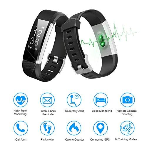 Zoom IMG-1 letscom fitness tracker hr orologio