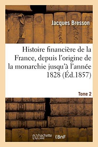 Histoire financière de la France, depui...
