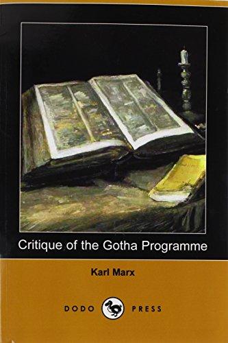 Gotha-programm (Critique of the Gotha Programme (Dodo Press))