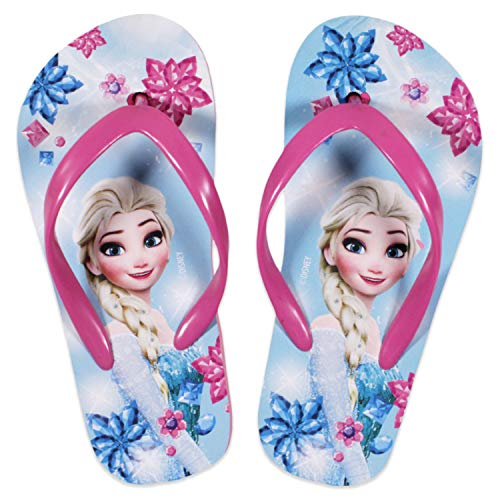 Disney Frozen Elsa Girls Flip Flops