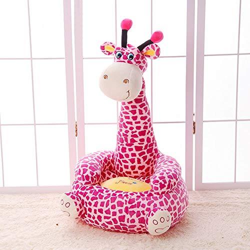 WAYERTY Kindersofa, Kinder Sofa Cartoon Tier Faule Couch Plüschtiere Polstermöbel Baby Stuhl Geburtstagsgeschenk Mini-Sessel-Rose Red 50x45x85cm(20x18x33inch) - Wohnzimmer-polstermöbel, Tisch