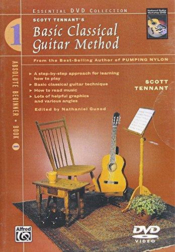 Preisvergleich Produktbild Basic Classical Guitar Method,  Bk 1: From the Best-Selling Author of Pumping Nylon (DVD) [UK Import]