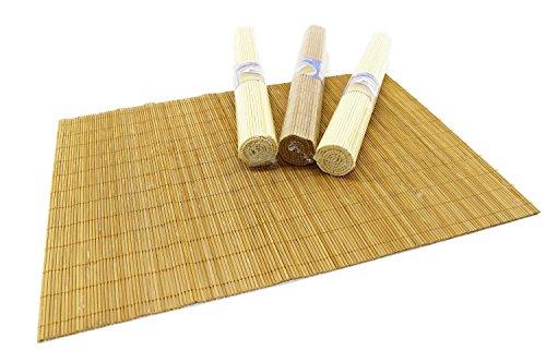 Juego 4 salvamanteles individuales bambú RMB®, manteles