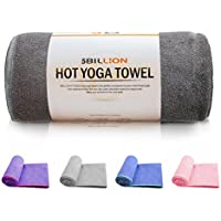 5BILLION Microfibra Toalla de Yoga - 183cm x 61cm - Hot Toalla de Yoga, Bikram