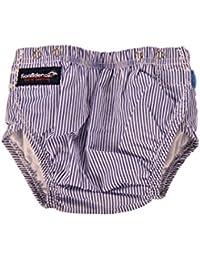 Konfidence Swim Nappy Stripes - White / Blue