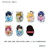 Taito lottery Free! Eternal Summer acrylic badge award seven set