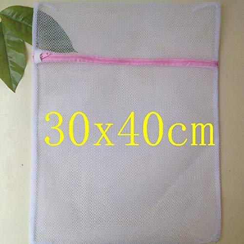 LLDXYD 6 Teile/sätze Mit Reißverschluss Mesh Wäsche Waschen Taschen Faltbare Feinwäsche Dessous BH Socken Unterwäsche Waschmaschine Kleidung Schutznetz Rosa S 1 stücke -