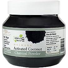 Mesmara Activated Coconut Charcoal Powder, 125g